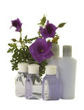 Hibiscus with Hygienic Supplies Stock Photography