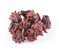 Hibiscus sabdariffa or roselle fruits Stock Photos