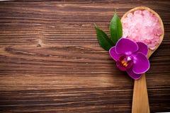 Hibiscus sea salt. Royalty Free Stock Photo