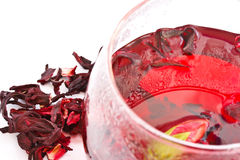 Hibiscus Tea Royalty Free Stock Photo