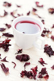 Hibiscus tea Stock Photo