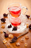 Hibiscus tea Royalty Free Stock Image