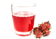 Hibiscus Tea. Is red,sour and sweet Royalty Free Stock Image