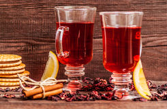 Hibiscus tea Stock Image