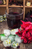 Hibiscus tea Stock Photos