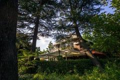 Hibiya park german house. Hibiya park german bungalow house in tokyo, japan stock image