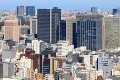 Hibiya, Tokyo. Tokyo skyline - capital city of Japan view with Hibiya district stock photography