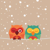 Hibou illustration de vecteur