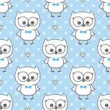 Hibou de bébé Photos stock