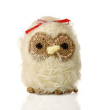 Hibou tricoté Image stock