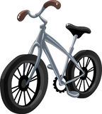 Hibrid bicycle. Vector illustration Stock Photography