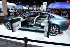 Hicago Auto toont. 12 februari, 2012 in Chicago, IL Royalty-vrije Stock Foto's