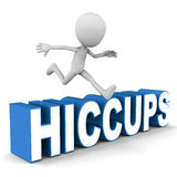 Hiccups Royalty Free Stock Photo