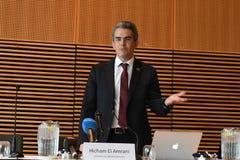 HICHAM EL AMRANI_CEO MORACO出价委员会 免版税图库摄影
