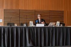 HICHAM EL AMRANI_CEO MORACO出价委员会 库存照片