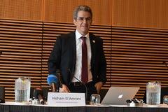 HICHAM EL AMRANI_CEO MORACO出价委员会 库存图片
