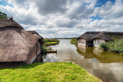 Hickling on the Norfolk Broads Royalty Free Stock Photography