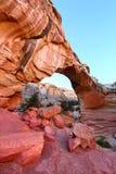 Hickman natürliche Brücke in Utah Lizenzfreies Stockfoto