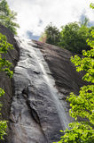 Hickory Nut Falls. In Chimney Rock State Park, North Carolina, United States Stock Photography