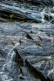 Hickory nut waterfalls during daylight summer Stock Photography