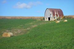 hicks barn fotografia stock