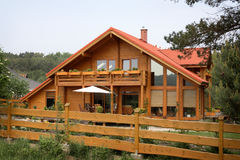 hicks domku na wsi Zdjęcia Stock
