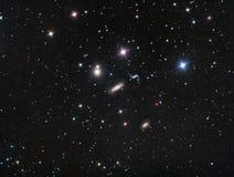 Hickson 44 Melkweggroep Stock Foto