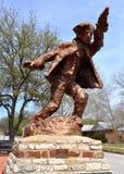 Hico Texas Brushy Bill. Statue Stock Photo