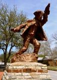 Hico Texas Brushy Bill. Statue Royalty Free Stock Image