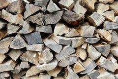 Hicory Fire Wood Stock Image
