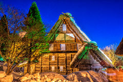 Hida Folk Village. The historic traditional Japanese village - Hida folk village in the Gifu, Japan Stock Photography