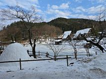 Hida Folk Village, Takayama, Japan Royalty Free Stock Photos