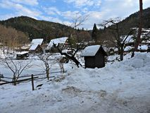 Hida Folk Village, Takayama, Japan Stock Photography