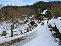 Hida Folk Village, Takayama, Japan Stock Photo