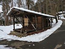 Hida Folk Village, Takayama, Japan Stock Photo