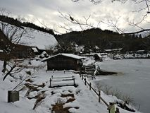 Hida Folk Village, Takayama, Japan Stock Photography