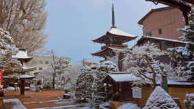 Hida Kokubunji Temple in Takayama Royalty Free Stock Images