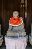 Hida Kokubunji Temple, Takayama, Japan. Takayama, Japan - May 2, 2016: Jizo statue at Hida Kokubunji Temple, Takayama, Japan. The Hida Kokubunji Temple was Stock Photo