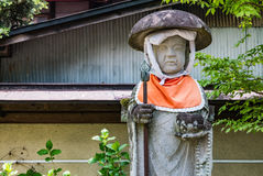 Hida Kokubunji Temple, Takayama, Japan. Takayama, Japan - May 2, 2016: Jizo statue at Hida Kokubunji Temple, Takayama, Japan. The Hida Kokubunji Temple was Stock Image