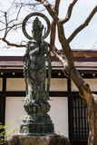 Hida Kokubunji Temple, Takayama, Japan. Takayama, Japan - May 2, 2016: Statue at Hida Kokubunji Temple, Takayama, Japan. The Hida Kokubunji Temple was Royalty Free Stock Photography