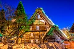 Hida-Volk-Dorf Stockfotografie