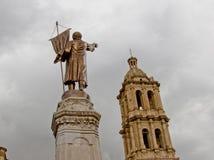 Hidalgo en el extremo del camino Fotografía de archivo