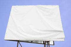 Hidden banner. With clear sky Royalty Free Stock Images