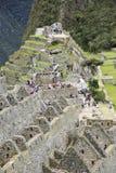 Hidden city Machu Picchu in Peru Stock Image