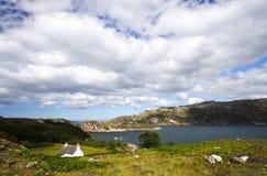 Hidden Country House, Scotland Royalty Free Stock Photos