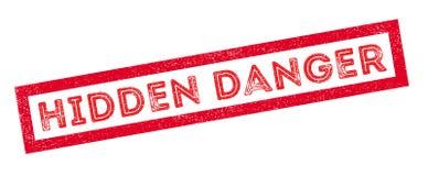 Hidden Danger rubber stamp Royalty Free Stock Photos