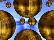 Hidden Door Sphericals Stock Photos