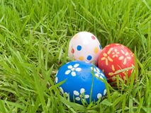 Hidden easter eggs Royalty Free Stock Image