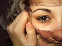 Hidden Face Royalty Free Stock Photo