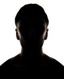 Hidden face Stock Images